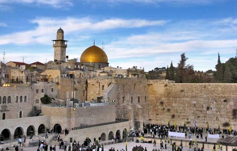 En af verdens største attraktioner - Jesrusalem med grædemuren