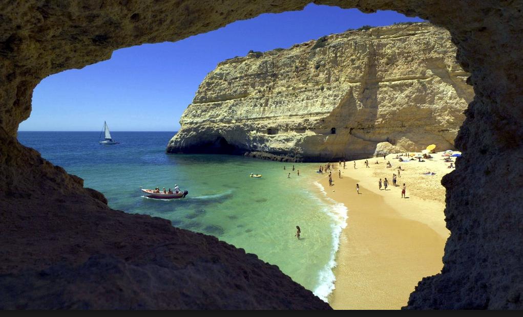 Algarve klipper strand