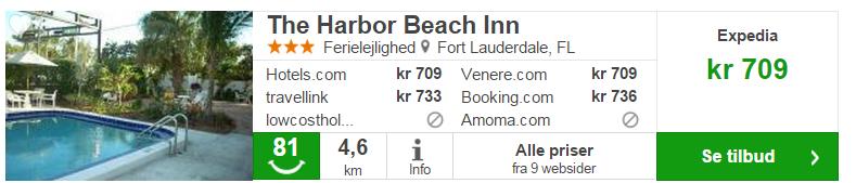 Hotel Harbor pris