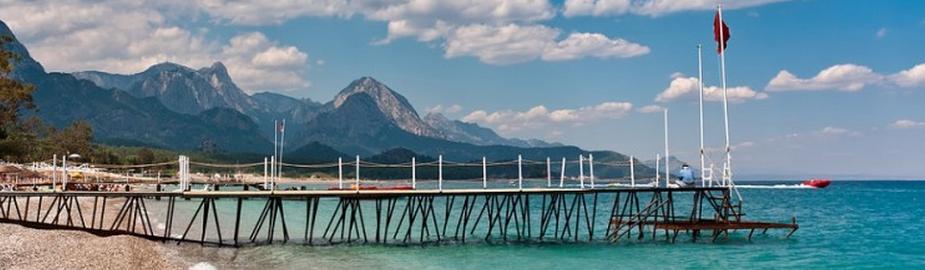 Hotel Club Konakli har egen, privat strand