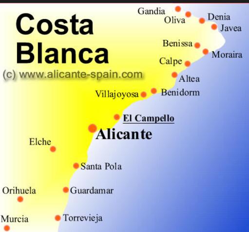 Hotellet ligger i Campello, 25 km fra Alicante og 35 fra Benidorm