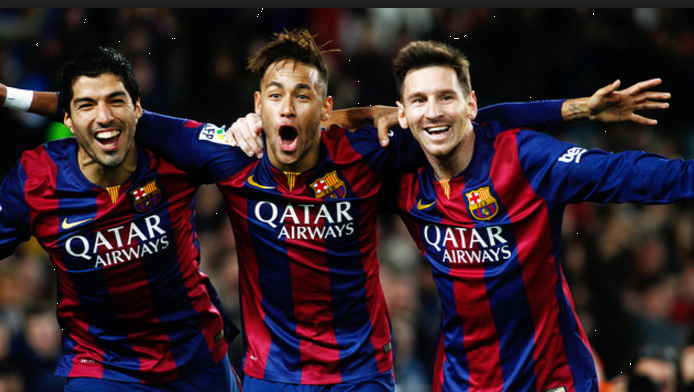 Måske verdens tre bedste angribere lige nu - og så på samme hold...!